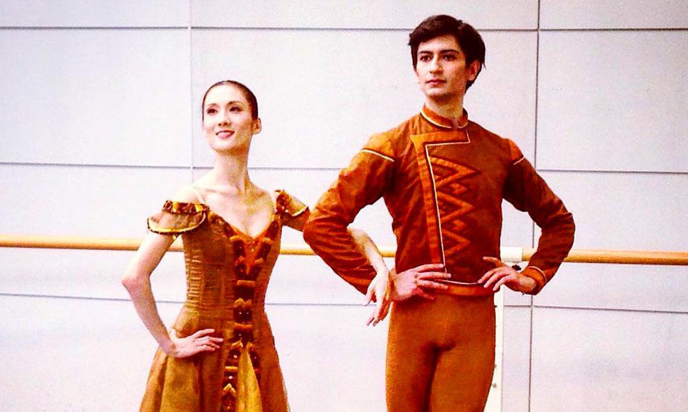 Braulio Álvarez de la Parra en Ballet de Tokio