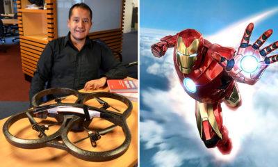"""Premian a Mexicanos por Crear Brazo Robótico Volador Estilo """"Ironman"""""""