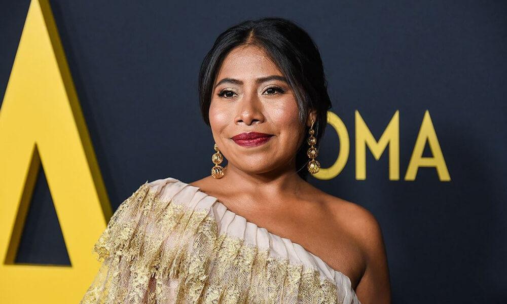Yalitza Aparicio en entrega de premios