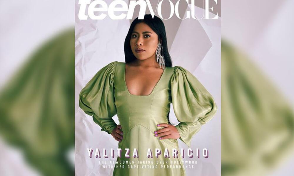 Yalitza Aparicio en Teen Vogue