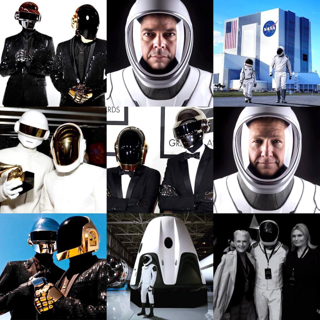 Diseños futuristas del mexicano José Fernández para Daft Punk, SpaceX y NASA