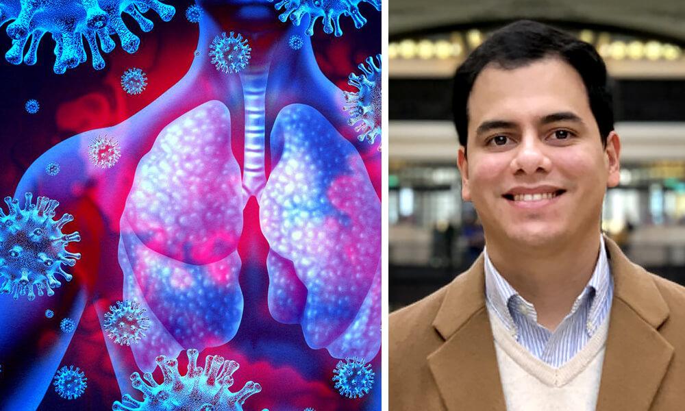 Luis Gómez Morales, Mexicano Trabaja en Cura Contra COVID-19 con Científicos Franceses
